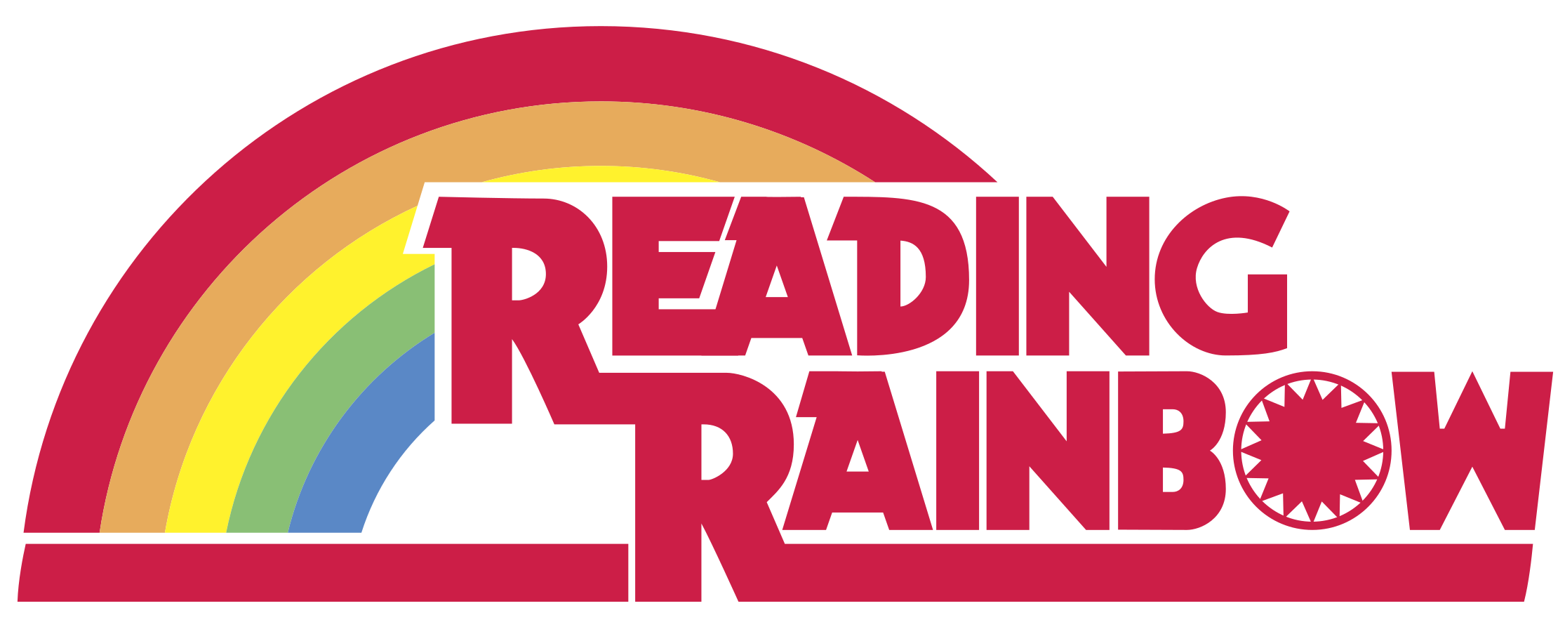 Image result for reading rainbow logo